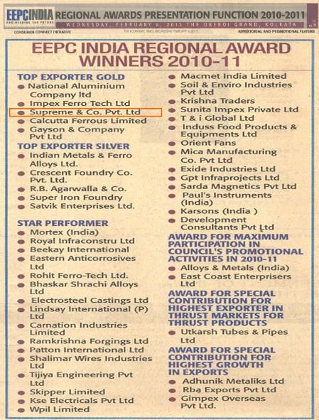 EEPC Award