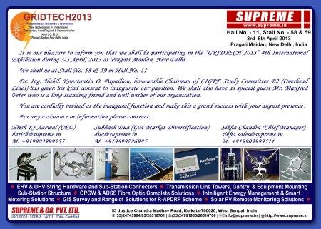 Gridtech 2013