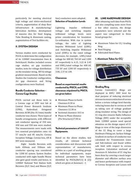 1200 KV Transmission & Distribution Hardware -Engineering Review-2
