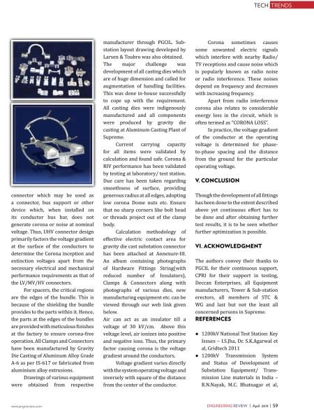 1200 KV Transmission & Distribution Hardware -Engineering Review-5