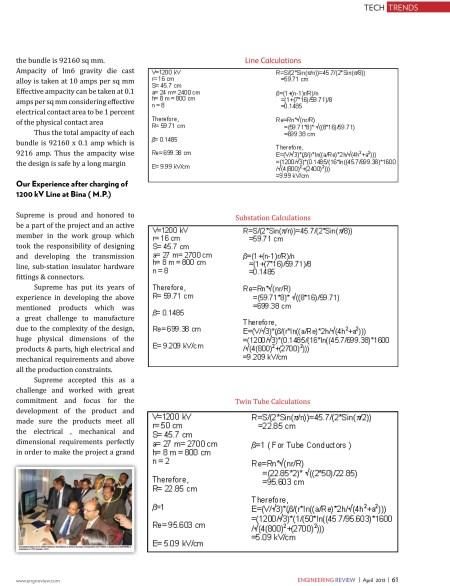 1200 KV Transmission & Distribution Hardware -Engineering Review-7